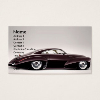 Holden Hot Rod Business Card