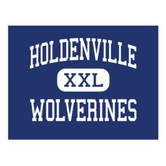 Holdenville - Wolverines - High - Holdenville Postcard