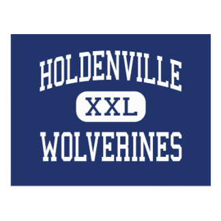Holdenville - Wolverines - Junior - Holdenville Postcard