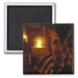 Holding Fire 2 Inch Square Magnet