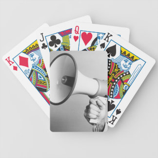 Holding Hand Playing Cards