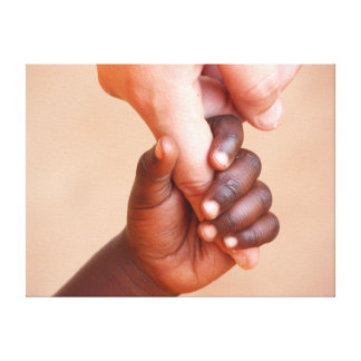 Holding Hands Canvas Gallery Wrapped Canvas
