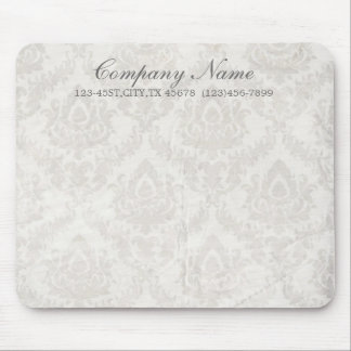 holding hands damask wedding planner business mouse pad