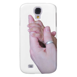 Holding Hands Galaxy S4 Cover
