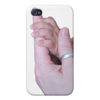 Holding Hands iPhone 4/4S Cover