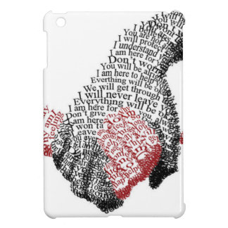 Holding Hands, Love conquers all iPad Mini Case