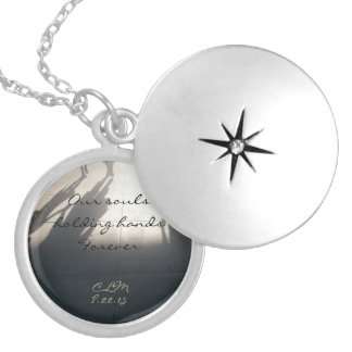 Holding Hands Memorial Locket