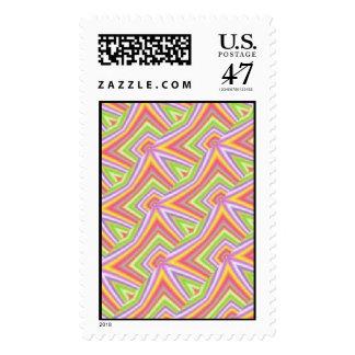 Holding Hands Postage Stamp