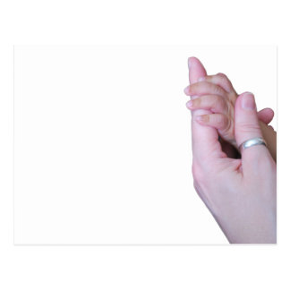 Holding Hands Postcard