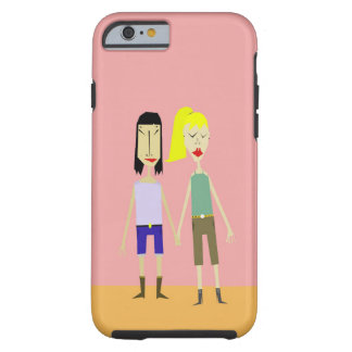 Holding Hands Tough iPhone 6 Case