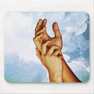 Holding Hands - United Mouse Pad