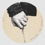 Holding hands with Horcrux Classic Round Sticker