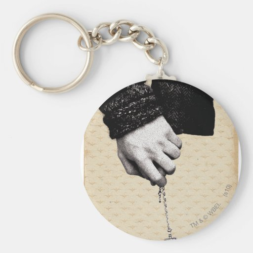 Holding hands with Horcrux Basic Round Button Keychain