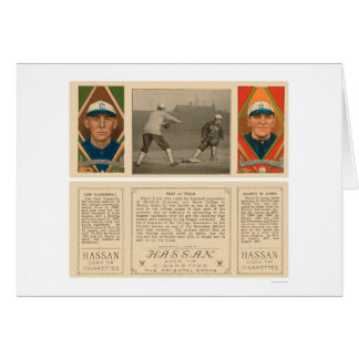 Holding Lord White Sox Baseball 1912 Card