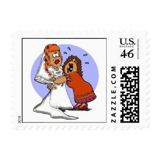 Holding On Postage Stamp