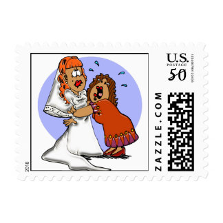"""Holding On"" Postage Stamp"