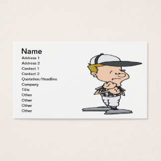 Holding Penalty Business Card