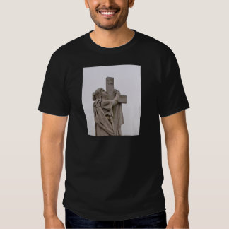 Holding the cross t-shirts