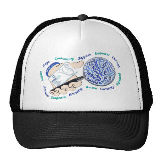 Holding the Magnifying Glass Trucker Hat