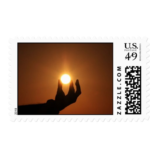 Holding the Sun 1 Postage