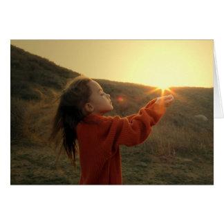 Holding the Sun Card