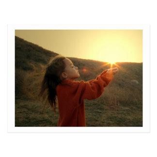 Holding the Sun Post Card