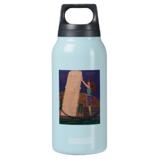 Holding Up the Leaning Tower of Pisa Insulated Water Bottle