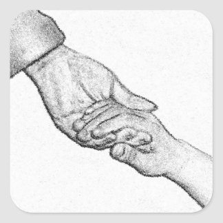 Holding Your Hand Sticker