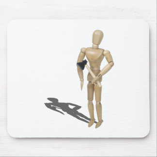 HoldingAHatchet112611 Mouse Pad