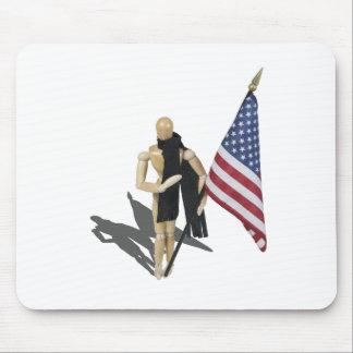 HoldingAmericanFlagHandHeart090912.png Mouse Pad