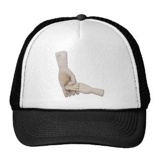 HoldingChildHand011011 Trucker Hat