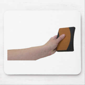 HoldingHardDrive072709 Mouse Pad