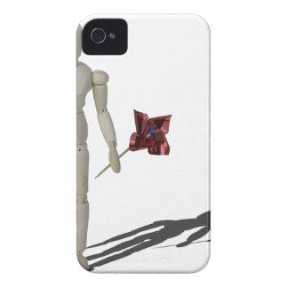 HoldingPinwheel012915.png iPhone 4 Case