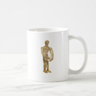 HoldingSingleBeaker013110 Classic White Coffee Mug