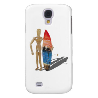 HoldingSurfBoard050111 Funda Para Galaxy S4