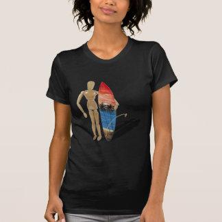 HoldingSurfBoard050111 T-Shirt