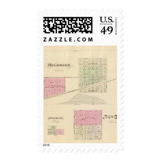 Holdrege, Nebraska Postage Stamp