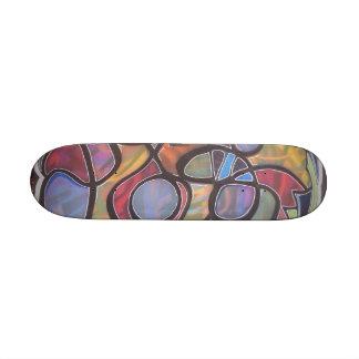 hole abstract- john bambino skateboard deck