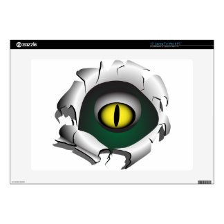 Hole, break.The eyes of the monster Laptop Decals