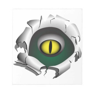 Hole, break.The eyes of the monster Notepad