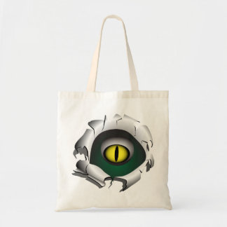 Hole, break.The eyes of the monster Tote Bag