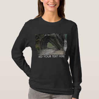 Hole in a Log T-Shirt
