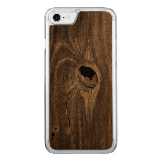 hole in fence carved iPhone 8/7 case