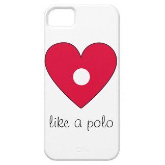 Hole in heart phone case iPhone 5 case