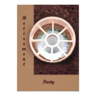 Hole in One 5x7 Paper Invitation Card