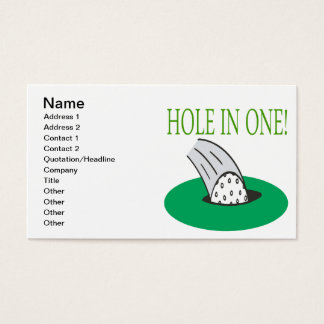 Hole In One Business Card