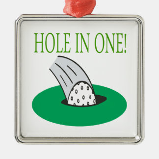Hole In One Christmas Tree Ornament