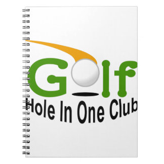Hole In One Club Notebook