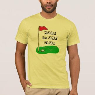 Hole in One Club Personalized Golf Custom Sports T-Shirt