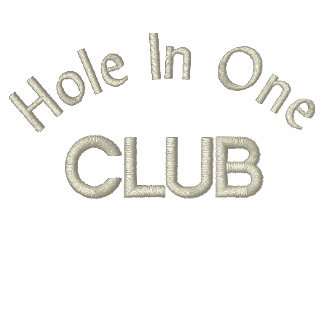 """Hole In One Club"" Polo Shirt"